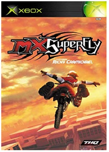 THQ MX Superfly Xbox Game