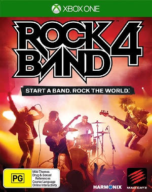 Mad Catz Rock Band 4 Start A Band Rock The World Xbox One Game