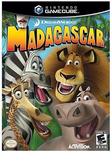 Activision Madagascar GameCube Game