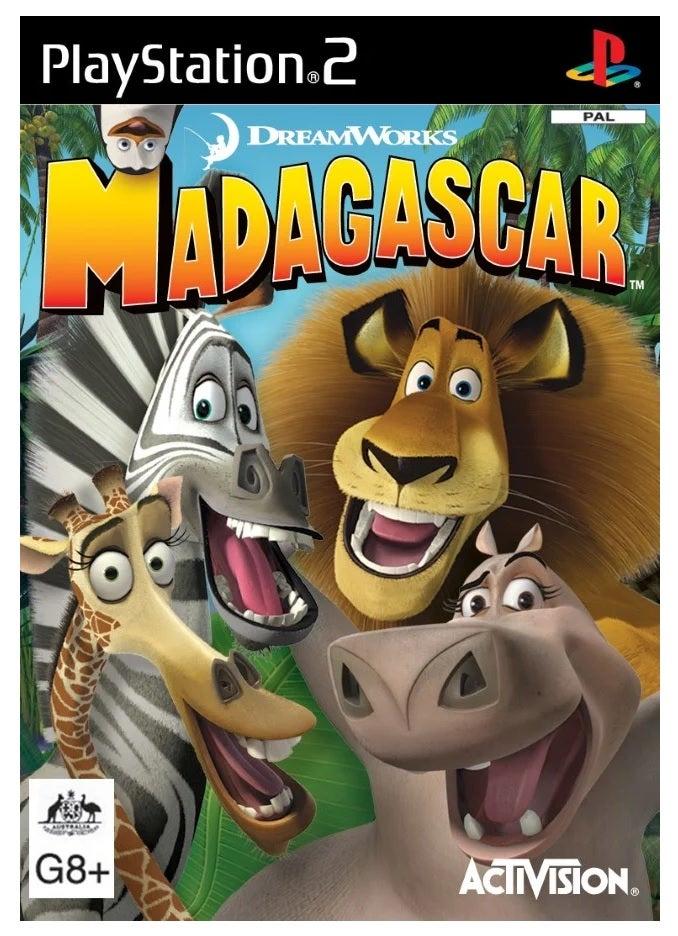 Activision Madagascar Refurbished PS2 Playstation 2 Game