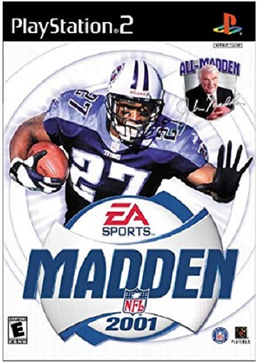 Electronic Arts Madden NFL 2001 PS2 Playstation 2 Game
