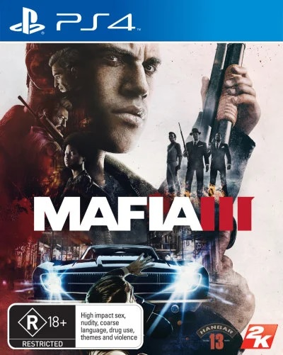 2k Games Mafia III Refurbished PS4 Playstation 4 Game