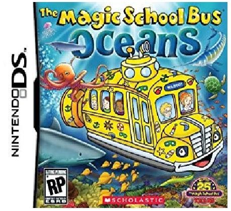 Scholastic Inc Magic School Bus Oceans Nintendo DS Game
