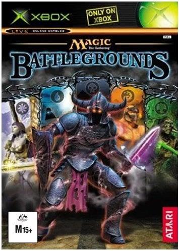 Atari Magic the Gathering Battlegrounds Xbox Game