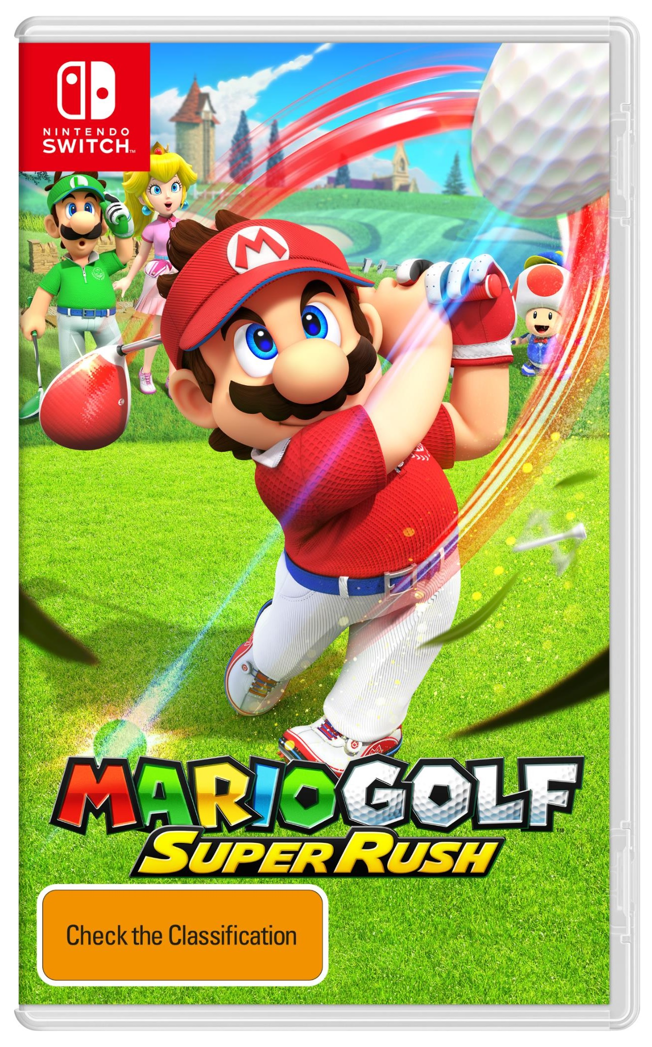 Nintendo Mario Golf Super Rush Nintendo Switch Game