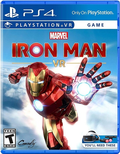 Sony Marvels Iron Man VR Refurbished PS4 Playstation 4 Game