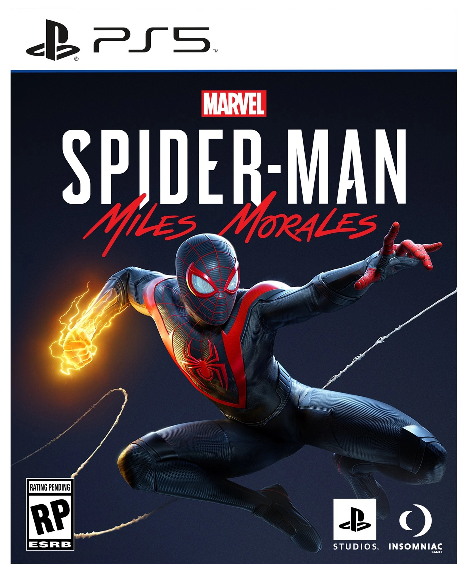 Sony Marvels Spider Man Miles Morales PS5 Playstation 5 Game