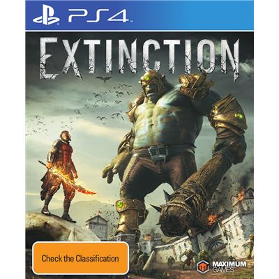 Maximum Family Games Extinction PS4 Playstation 4 Game