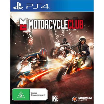 Maximum Family Games Motorcycle Club PS4 Playstation 4 Game