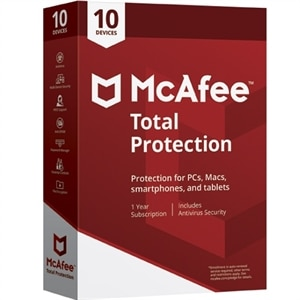 McAfee Total Protection Security Software