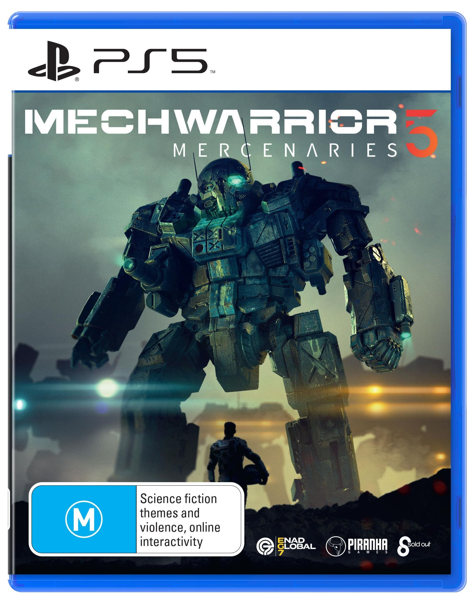 Sold Out MechWarrior 5 Mercenaries PS5 PlayStation 5 Game