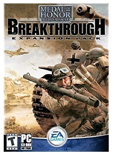 Electronic Arts Medal Of Honor Allied Assault Breakthrough Expansion Pack PC Game