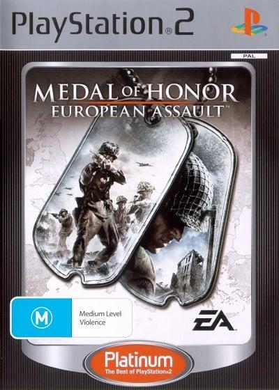 Electronic Arts Medal Of Honor European Assault Platinum Refurbished PS2 Playstation 2 Game