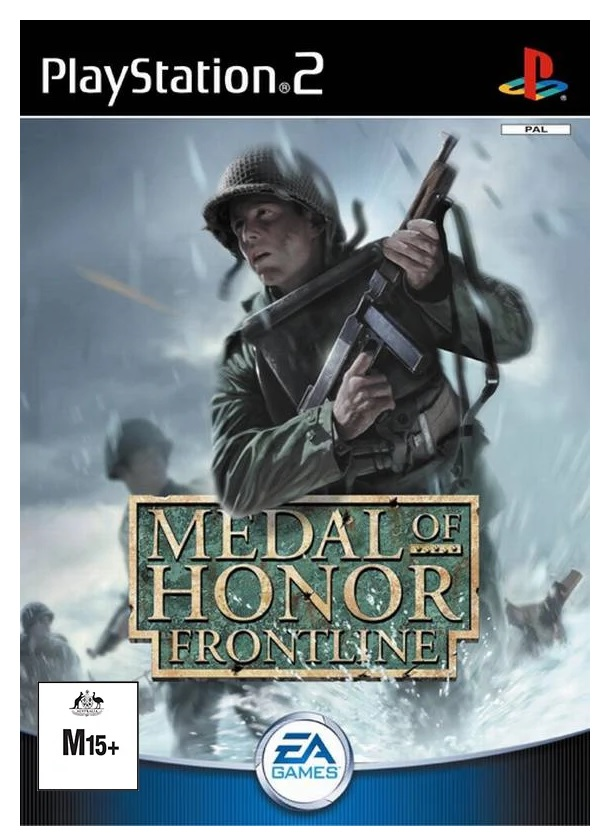Electronic Arts Medal Of Honor Frontline Refurbished PS2 Playstation 2 Game