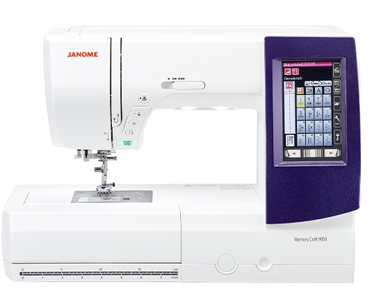 Janome Memory Craft 9850 Sewing Machine