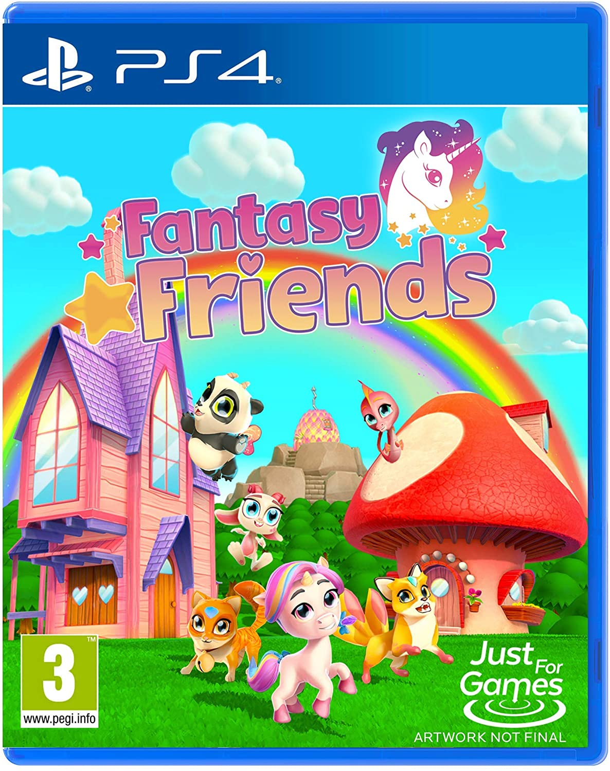 Merge Games Fantasy Friends PS4 Playstation 4 Game