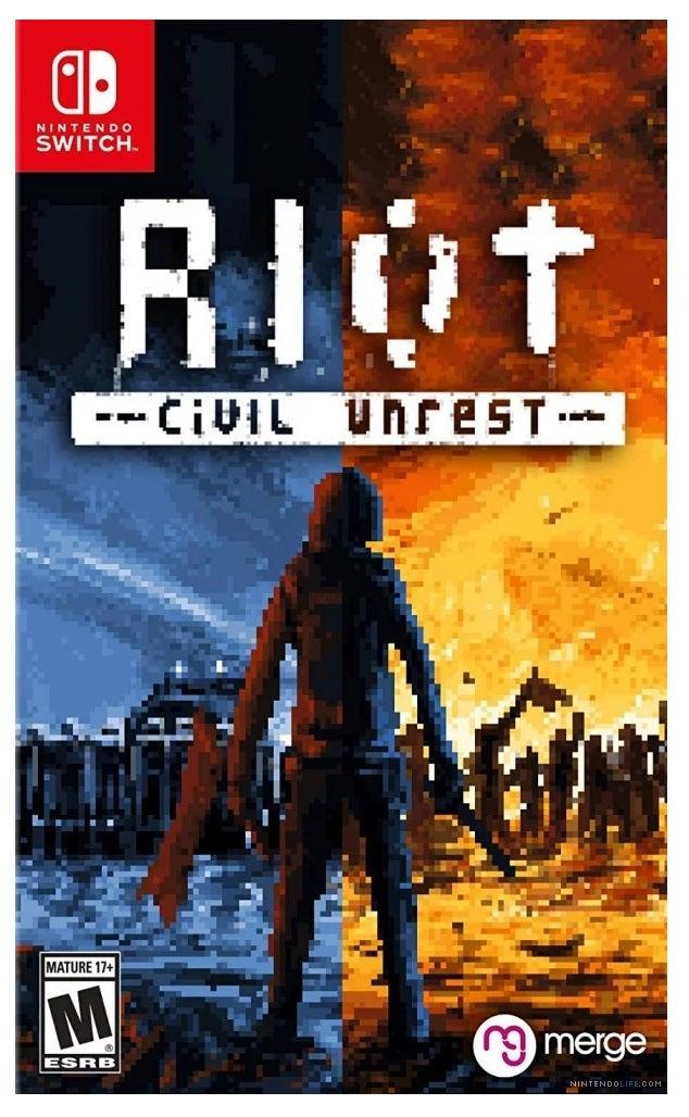 Merge Games Riot Civil Unrest Nintendo Switch Game