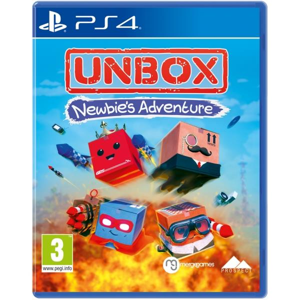 Merge Games Unbox Newbies Adventure PS4 Playstation 4 Game