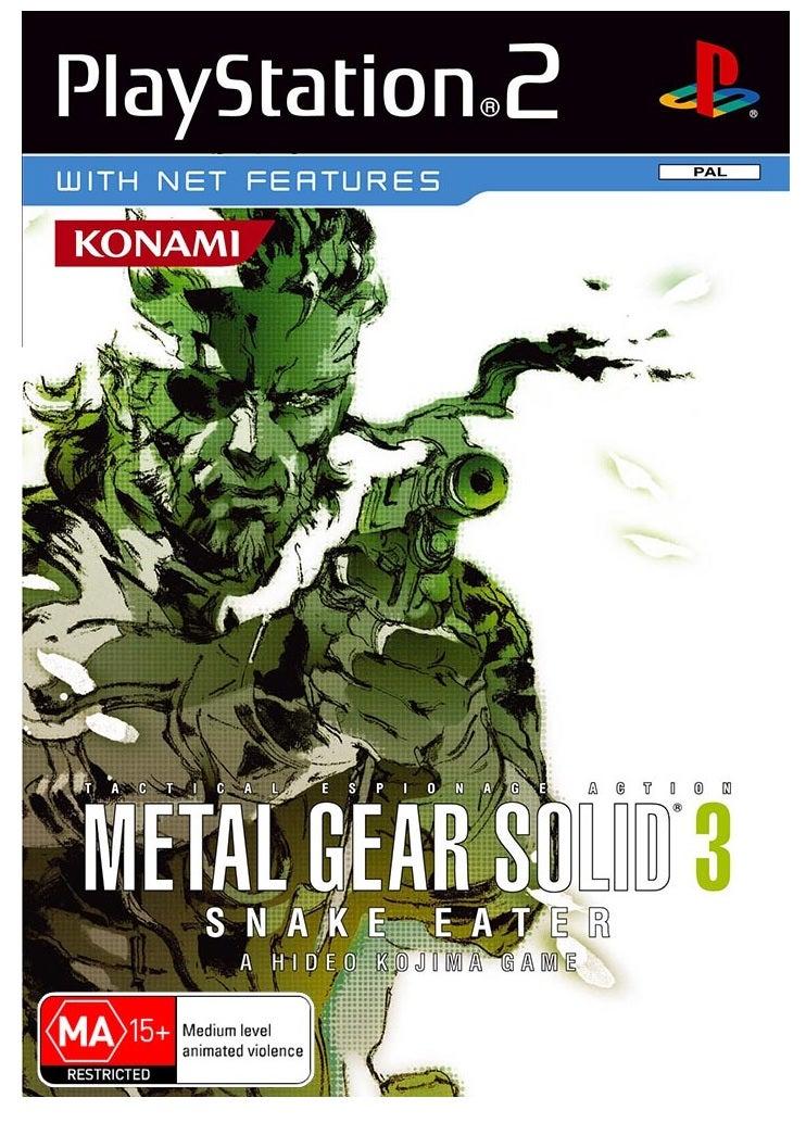 Konami Metal Gear Solid 3 Snake Eater Refurbished PS2 Playstation 2 Game