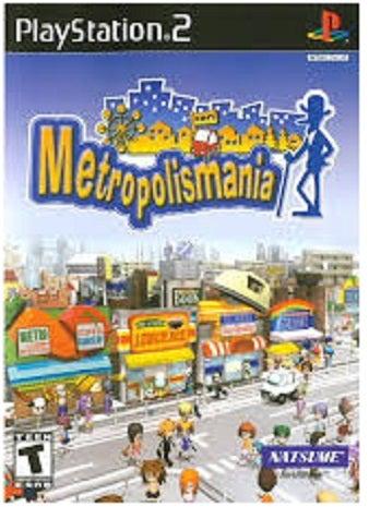 Natsume Metropolismania PS2 Playstation 2 Game