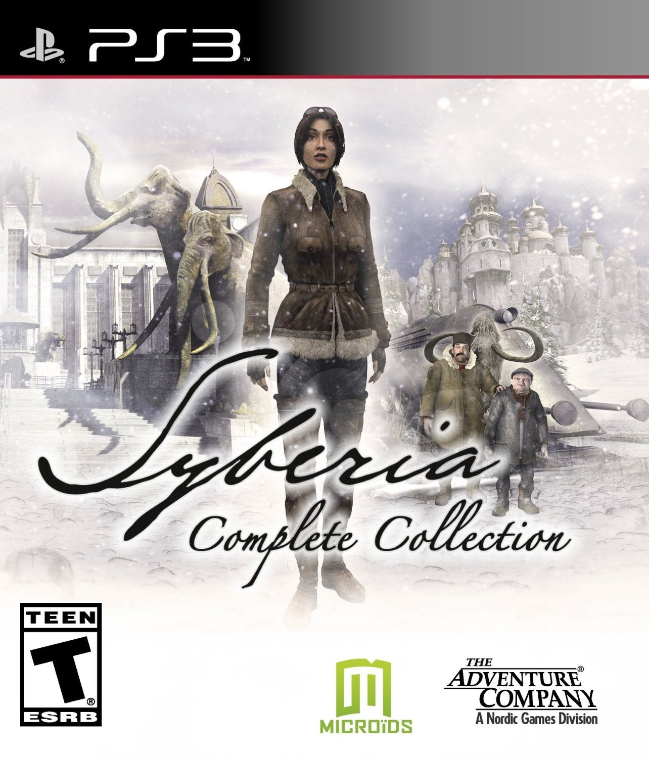 Microids Syberia Complete Collection PS3 Playstation 3 Game