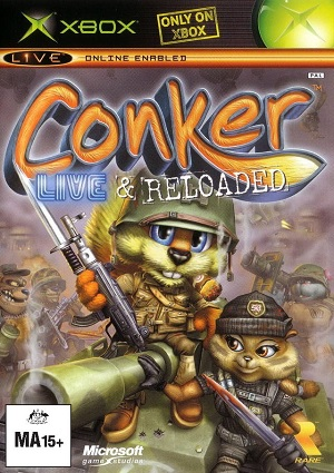 Microsoft Conker Live And Reloaded Xbox Game