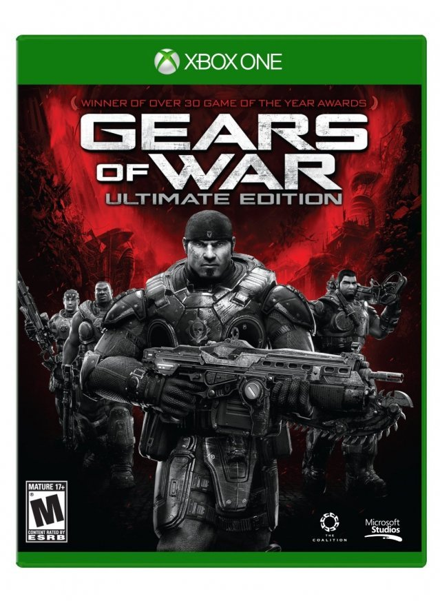 Microsoft Gears of War Ultimate Edition Xbox One Game
