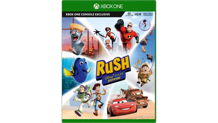 Microsoft Rush A Disney Pixar Adventure Xbox One Game