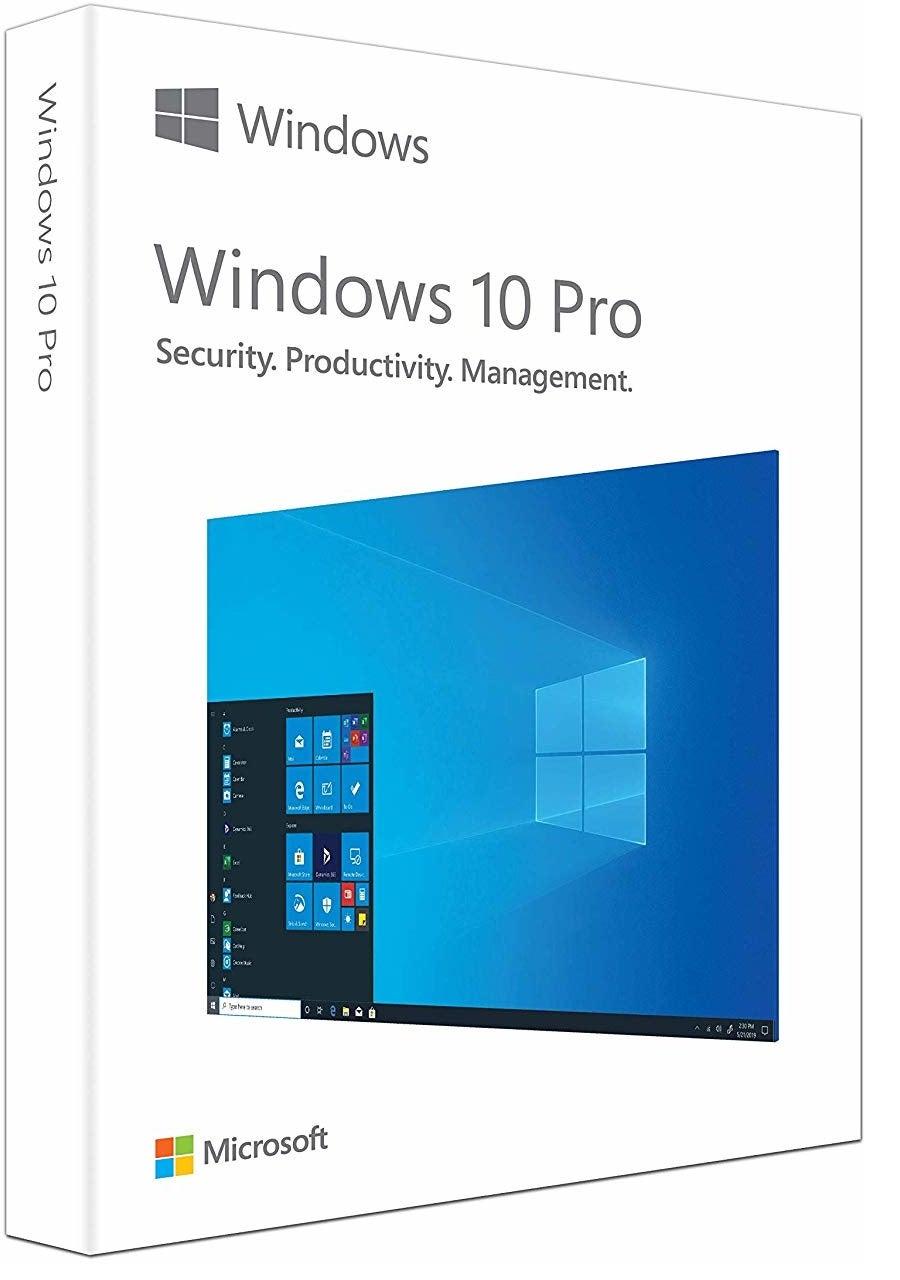 Microsoft Windows 10 Pro Operating System