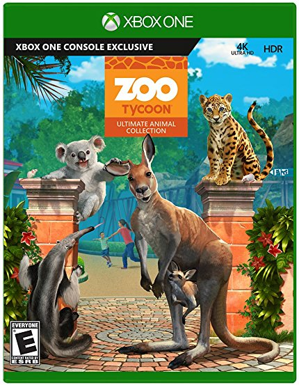 Microsoft Zoo Tycoon Zookeeper Collection Xbox One Game