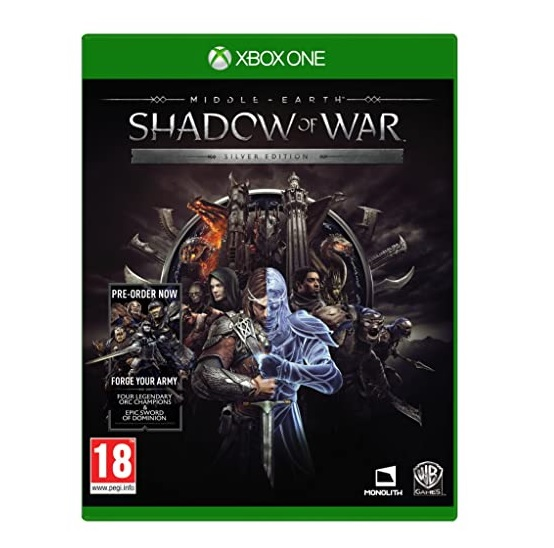 Warner Bros Middle Earth Shadow Of War Silver Edition Refurbished Xbox One Game