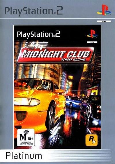 Rockstar Midnight Club Street Racing Platinum Refurbished PS2 Playstation 2 Game
