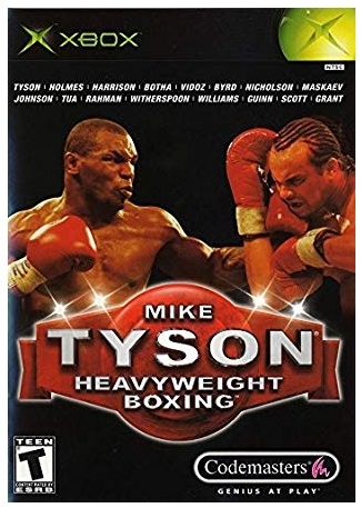 Codemasters Mike Tyson Heavyweight Boxing Xbox Game