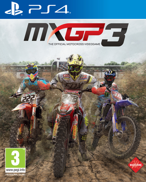 Milestone MXGP 3 The Official Motocross Videogame PS4 Playstation 4 Game