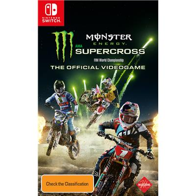 Milestone Monster Energy Supercross The Official Videogame Nintendo 3DS Game