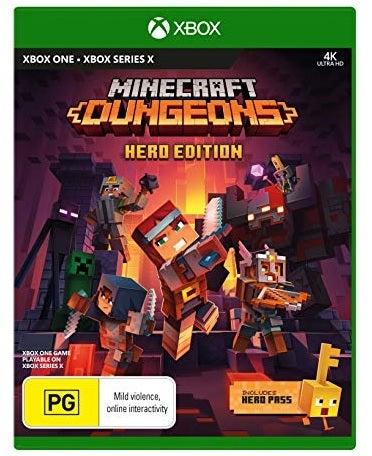 Microsoft Minecraft Dungeons Hero Edition Xbox X Game