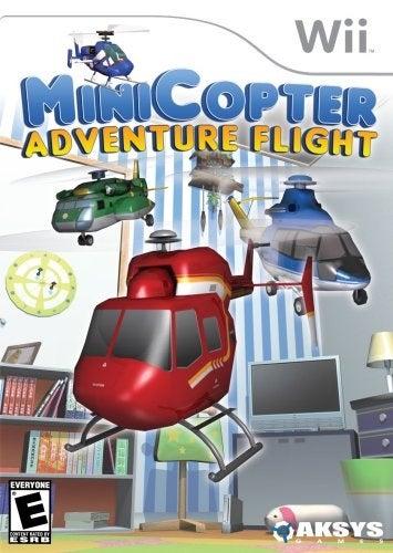 Aksys Games MiniCopter Adventure Flight Nintendo Wii Game