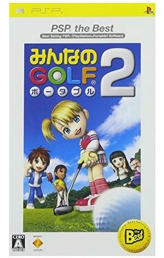 Sony Minna No Golf Portable 2 PSP Game