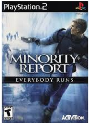 Activision Minority Report Everybody Runs PS2 Playstation 2 Game