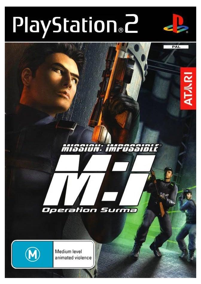 Atari Mission Impossible Operation Surma Refurbished PS2 Playstation 2 Game
