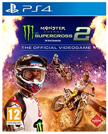 Deep Silver Monster Energy Supercross The Official Videogame 2 PS4 Playstation 4 Game