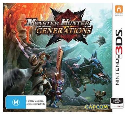 Capcom Monster Hunter Generations Refurbished Nintendo 3DS Game