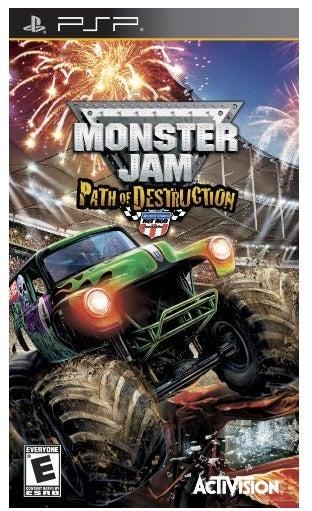 Activision Monster Jam 3 Path Of Destruction PSP Game