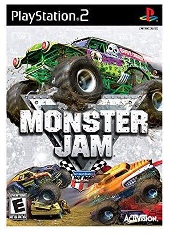 Activision Monster Jam Refurbished PS2 Playstation 2 Game