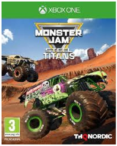 THQ Monster Jam Steel Titans Xbox One Game