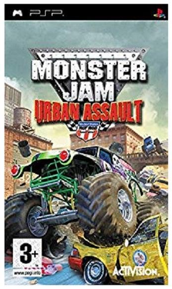 Activision Monster Jam Urban Assault PSP Game