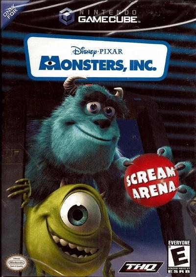 THQ Monsters Inc Scream Arena GameCube Game