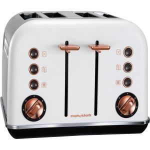 Morphy Richards Rose Gold 4 Toaster