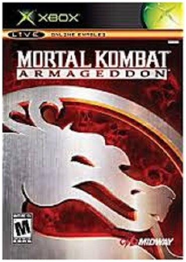 Midway Games Mortal Kombat Armageddon Xbox Game