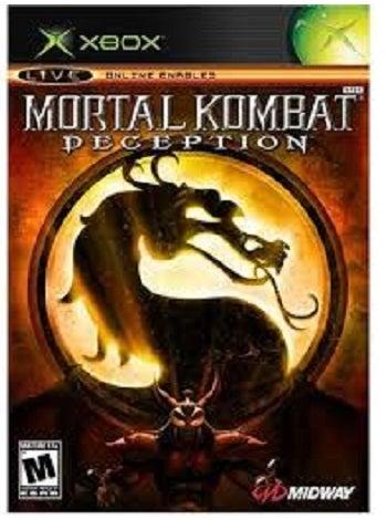Midway Games Mortal Kombat Deception Xbox Games